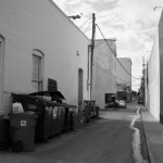 Alley and Crane