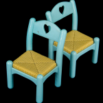Dollhouse Chairs