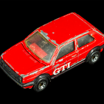 Matchbox Red GTI Car