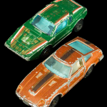 Green and Brown Cars