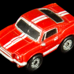 Micro Machine Red Car
