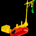 Mouse Trap Tub and Boot Post