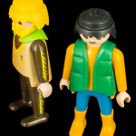 Two Play Mobil Guys