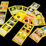 Electric and Fire Pokémon Cards