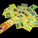 Pokémon Green and Brown Cards
