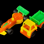 Small Colorful Plastic Vehicles