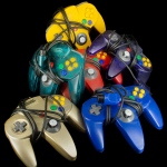 Pile of Nintendo 64 Controllers