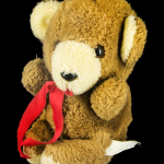 Teddy Bear (with something inside that rattles)
