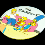 The Simpsons Button