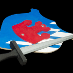Wooden Sword and Shield