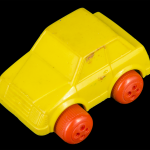 Simple Yellow Car Toy
